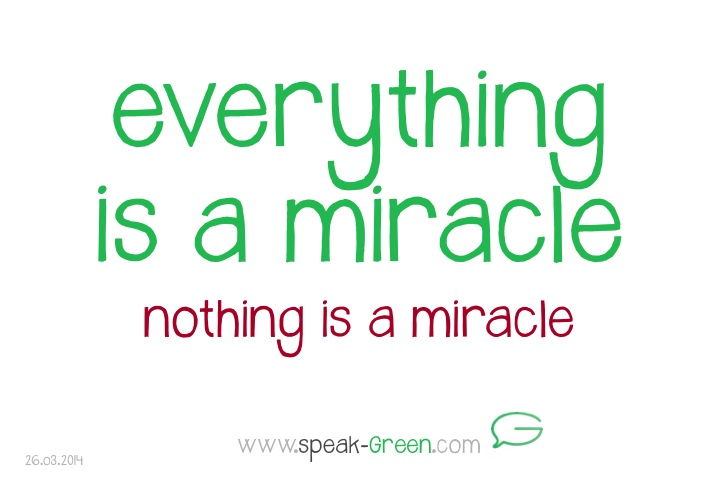 2014-03-26 - eveything is a miracle