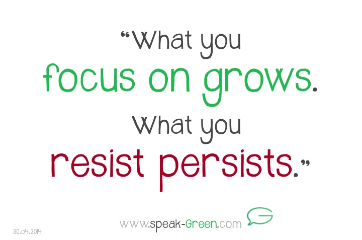 2014-04-30 - what you focus on grows