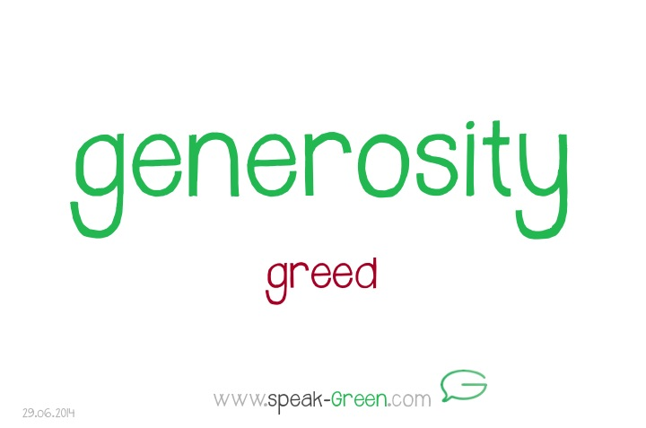 2014-06-29 - generosity