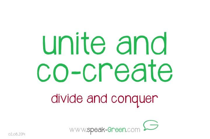2014-08-02 - unite and co-create