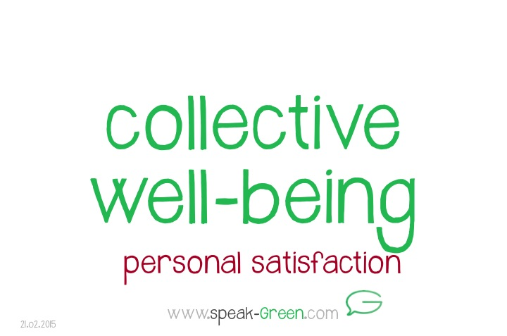 2015-02-21 - collective well-being