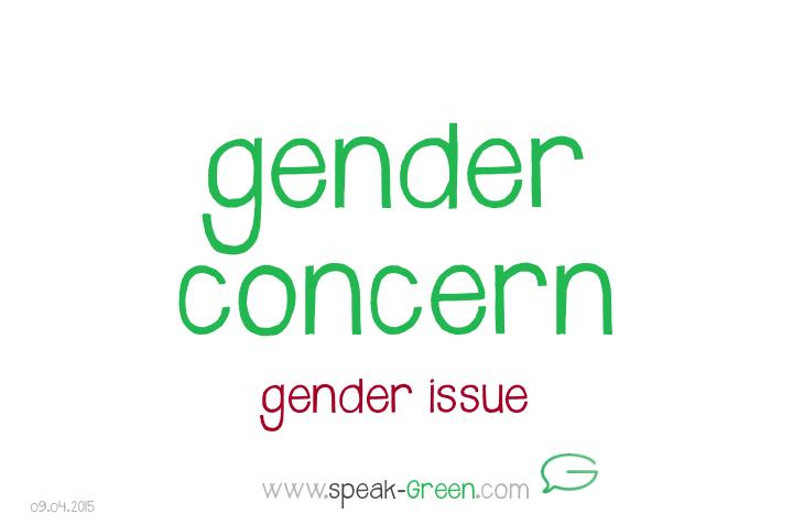 2015-04-09 - gender concern
