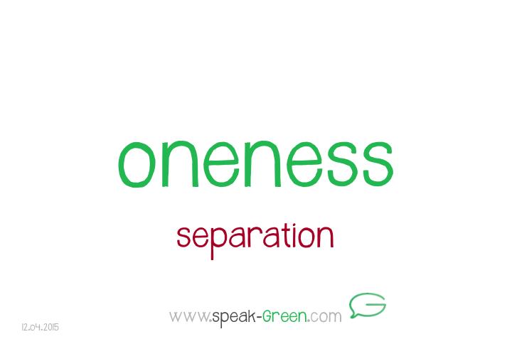 2015-04-12 - oneness