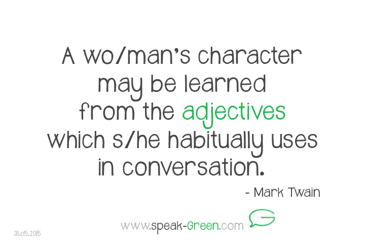 2015-05-31 - wo:mans adjectives