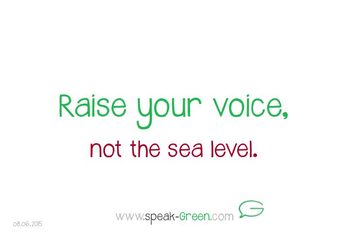 2015-06-08 - raise your voice