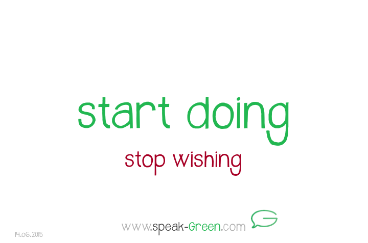2015-06-14 - start doing