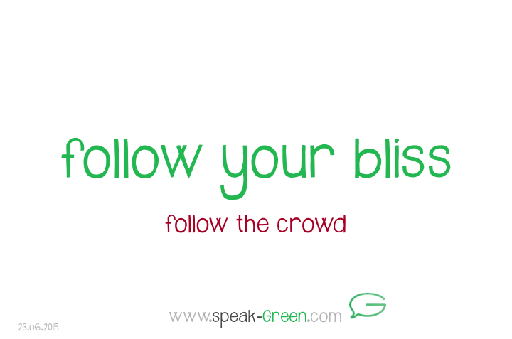 2015-06-23 - follow your bliss