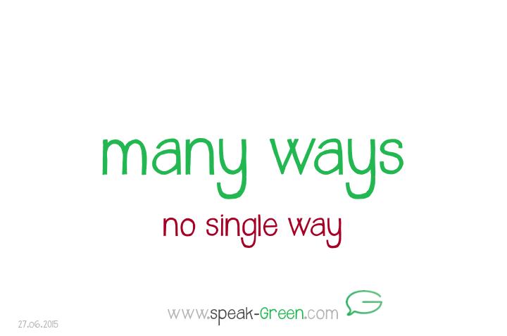 2015-06-27 - many ways