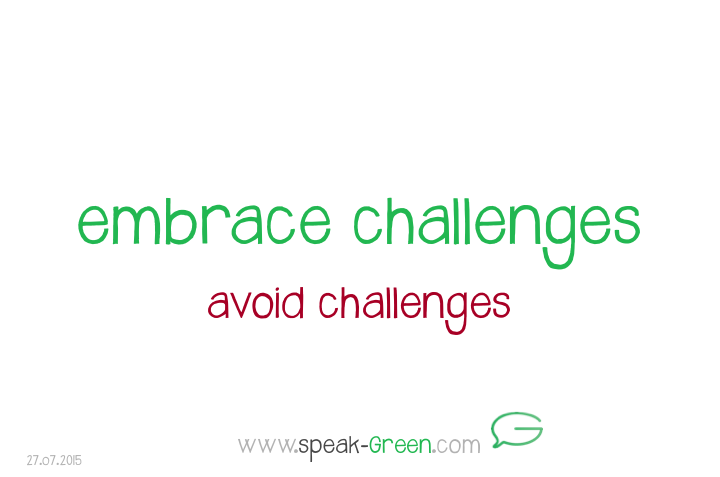 2015-07-27 - embrace challenges