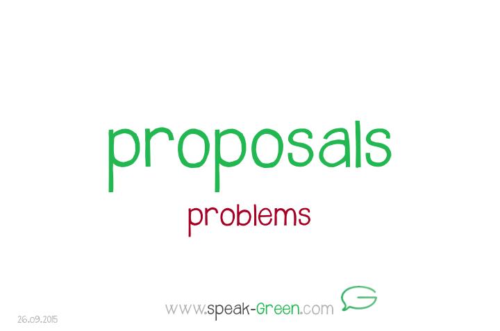 2015-09-26 - proposals