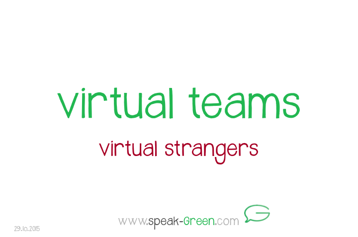 2015-10-29 - virtual teams