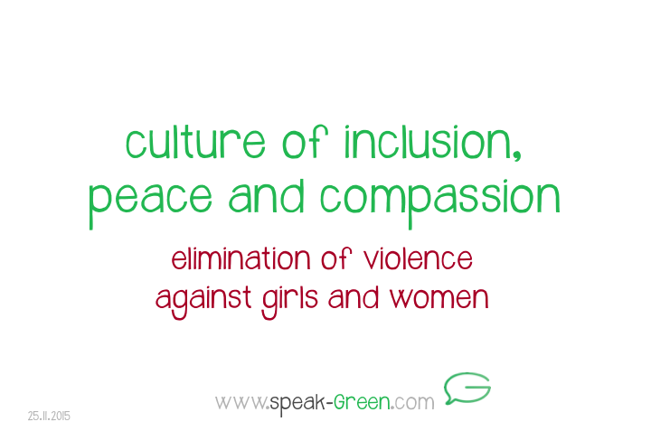 2015-11-25 - culture of inclusion, peace and compassion