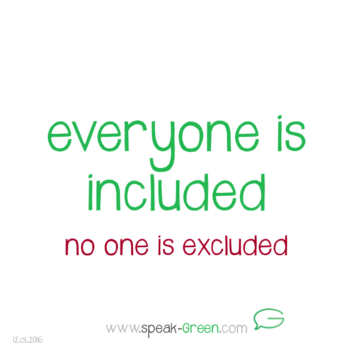 2016-01-12 - everyone is included