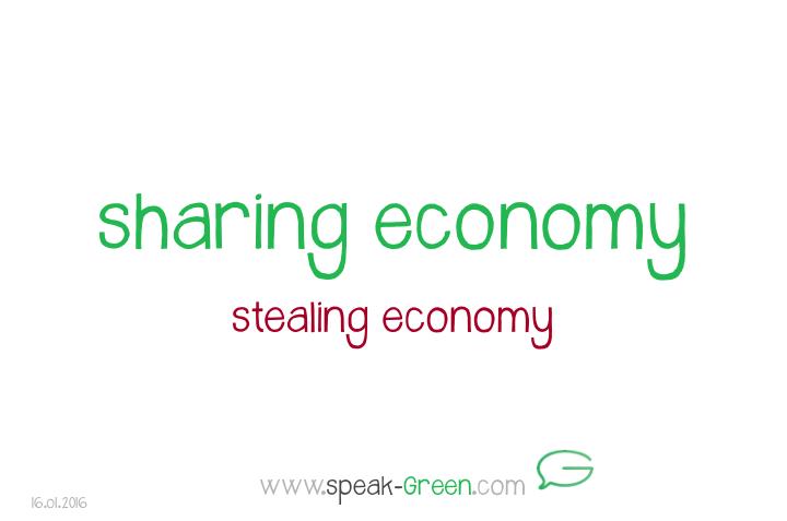 2016-01-16 - sharing economy