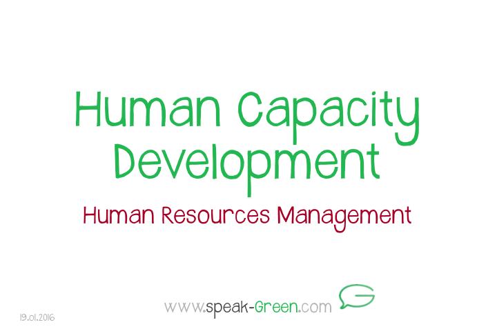 2016-01-19 - Human Capacity Development