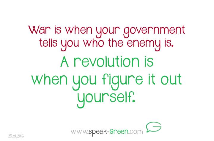 2016-01-25 - a revolution