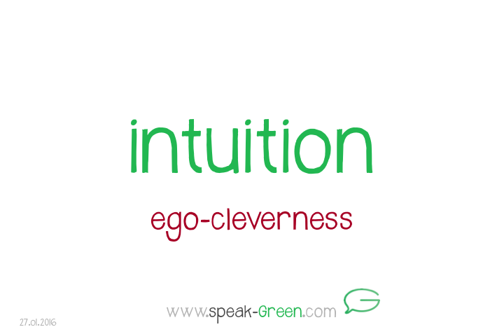 2016-01-27 - intuition