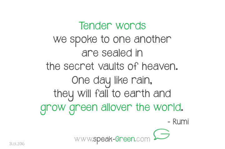 2016-01-31 - tender words