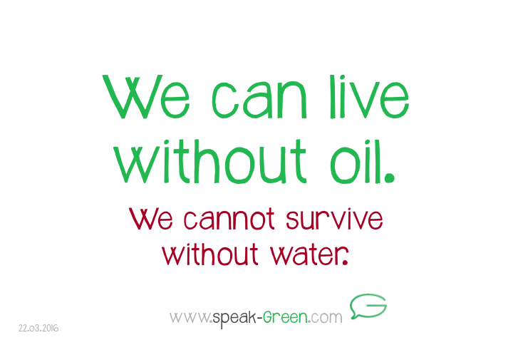 2016-03-22 - we can live without oil