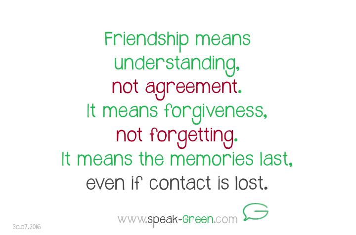 2016-07-30 - friendship