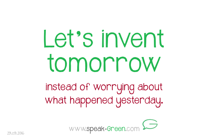 2016-09-29 - let's invent tomorrow