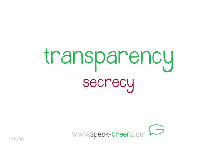 2016-11-24 - transparency