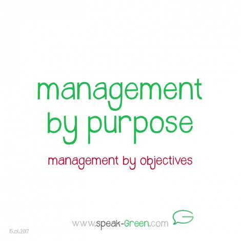 2017-01-15 - management by purpose