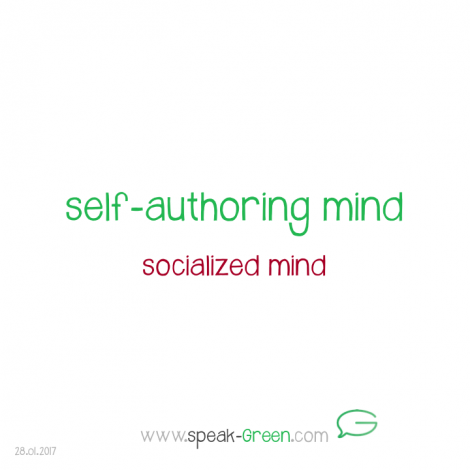 2017-01-28 - self-authoring mind