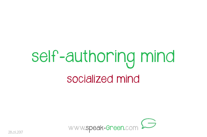 2017-01-28 - self-authoring mind