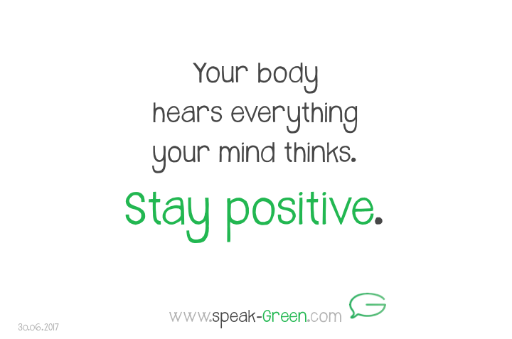 2017-06-30 - stay positive