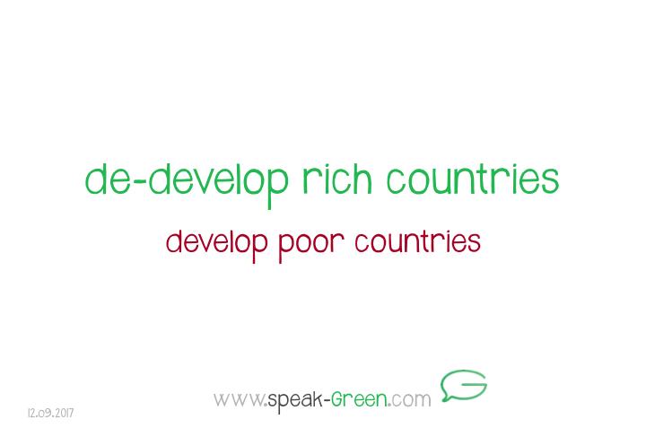 2017-09-12 - de-develop rich countries