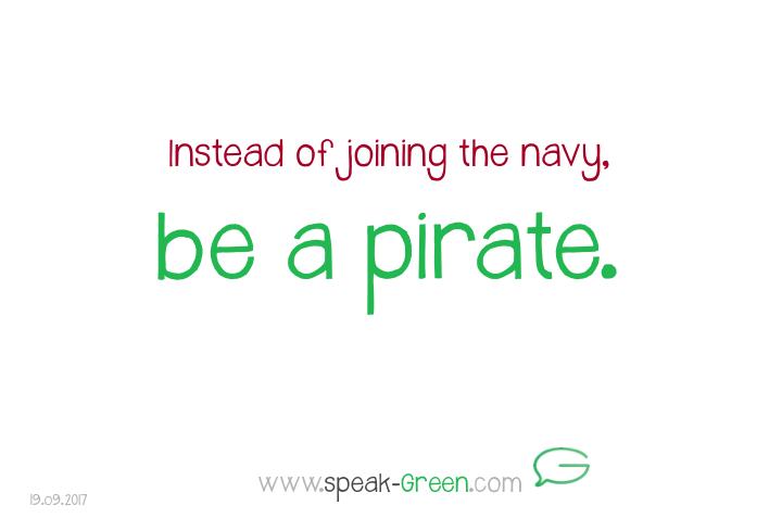 2017-09-19 - be a pirate