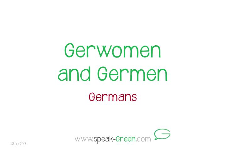 2017-10-03 - Gerwomen and Germen