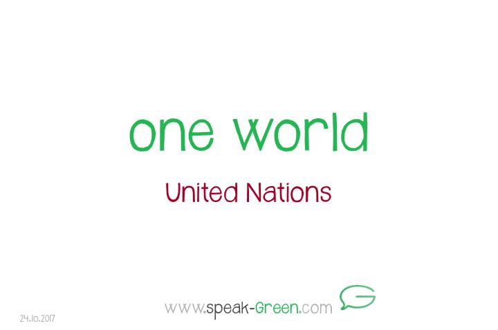 2017-10-24 - one world