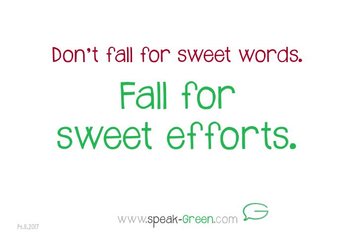 2017-11-14 - fall for sweet efforts