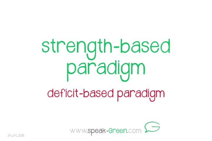 2018-04-24 - strength-based paradigm