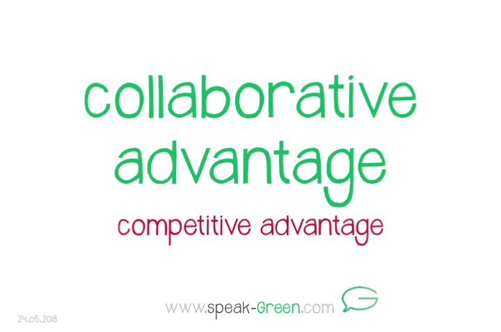2018-05-24 - collaborative advantage