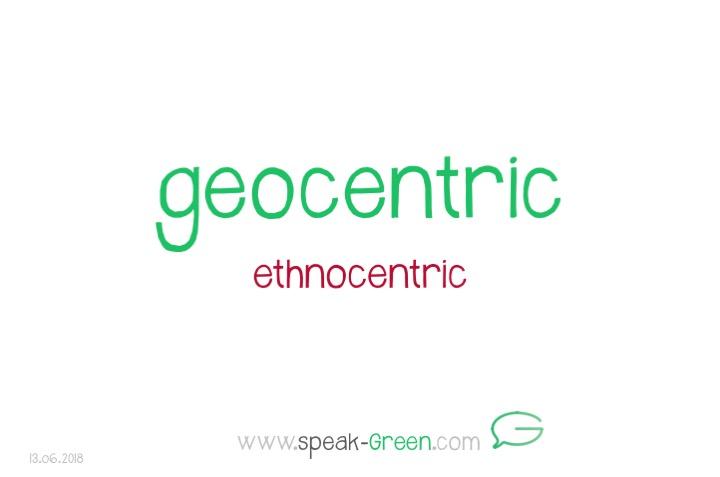 2018-06-13 - geocentric