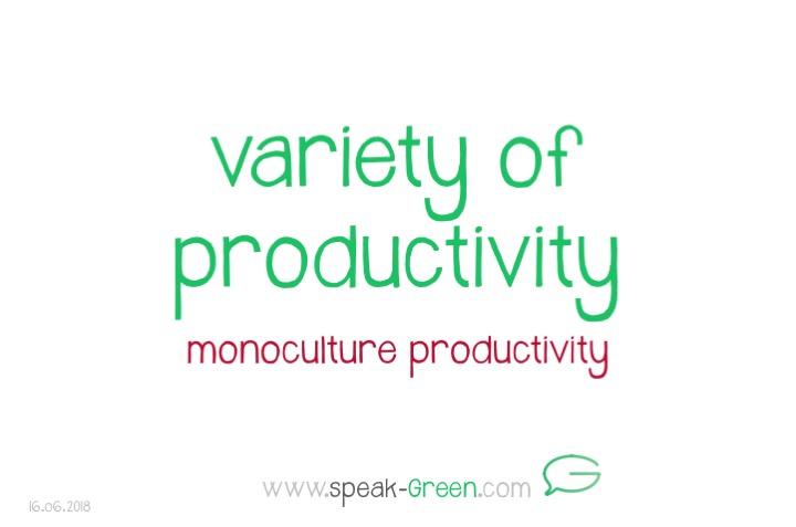 2018-06-16 - variety of productivity