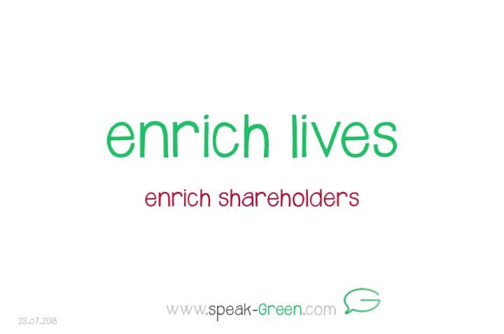 2018-07-23 - enrich lives