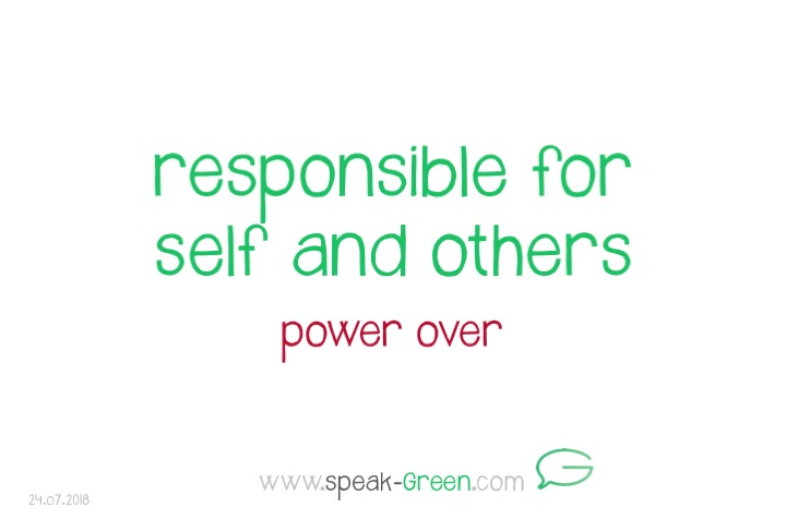 2018-07-24 - responsible for self and others