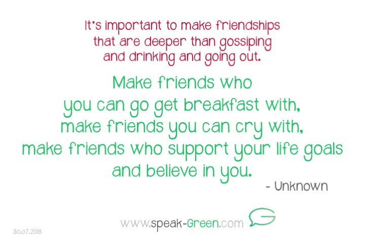 2018-07-30 - make friends