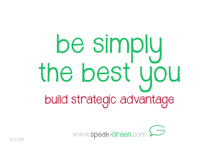 2018-11-28 - be simply the best you