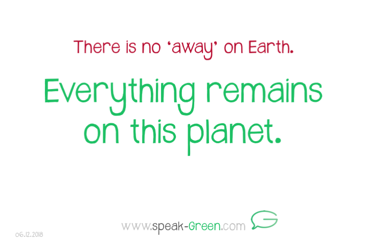 2018-12-06 - everything remains on this planet