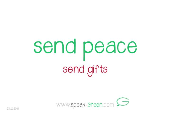 2018-12-23 - send peace