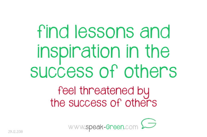 2018-12-29 - find lessons and inspiration in the success of others