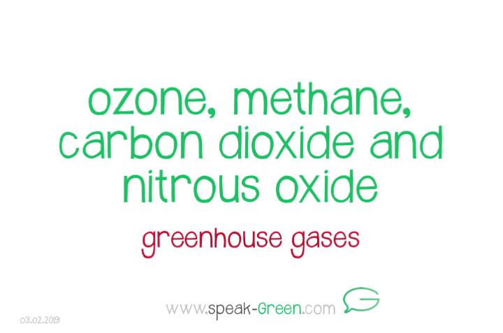 2019-02-03 - ozone, methane, carbone dioxide, nitrous oxide