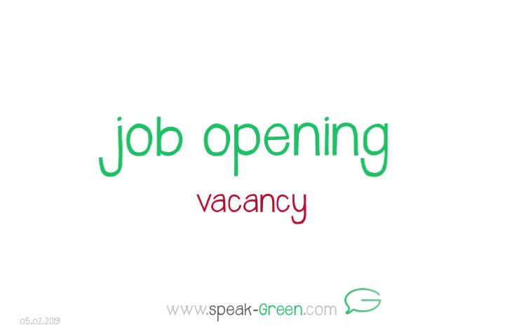 2019-02-05 - job opening