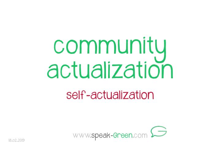 2019-02-18 - community actualization