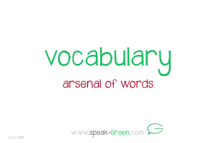 2019-02-21 - vocabulary
